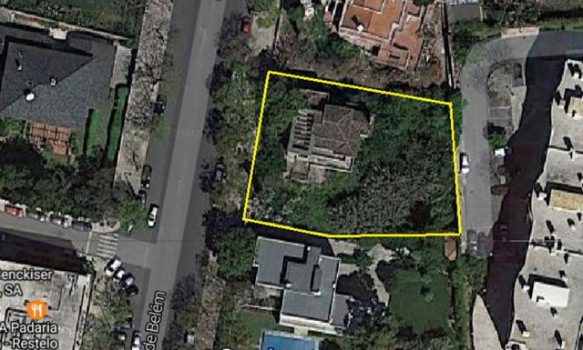 Lote de terreno com projeto de arquitectura para Hotel